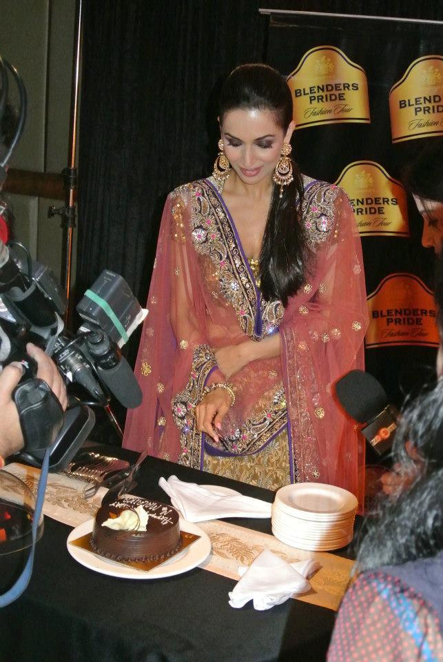 Malaika Pose For Camera At Blenders Pride Fashion Tour