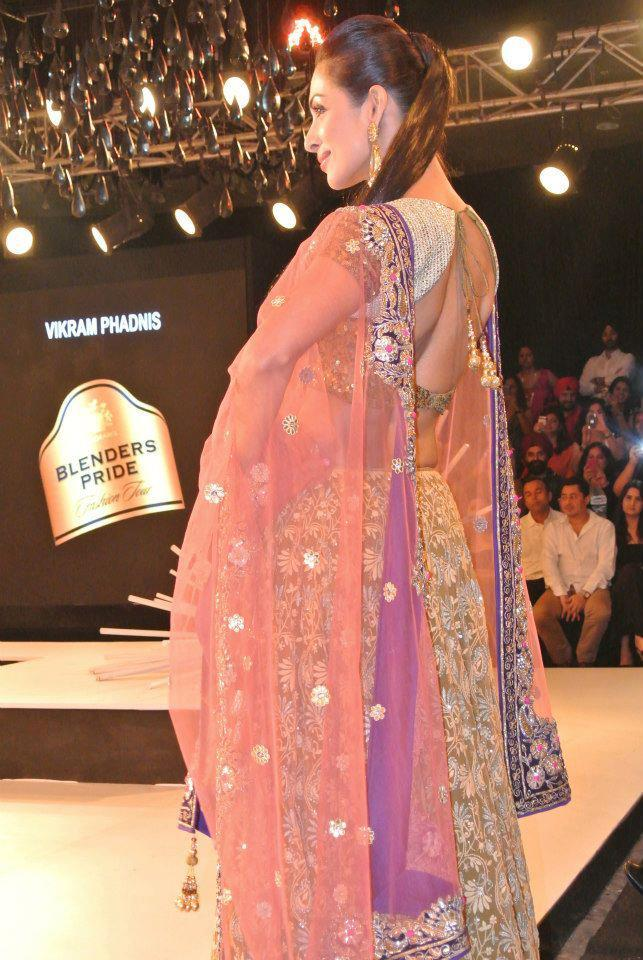 Maliaka Snap Taken During Ramp Show At BPFT 2012