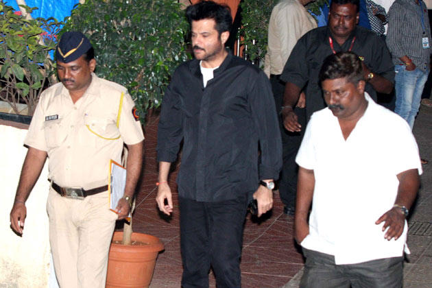 Anil Spotted To Pay His Last Respects To The Romance King