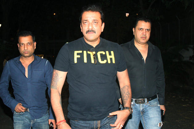 Sanjay Arrived To Pay His Last Respects To Yash Chopra In Yash Raj Studio