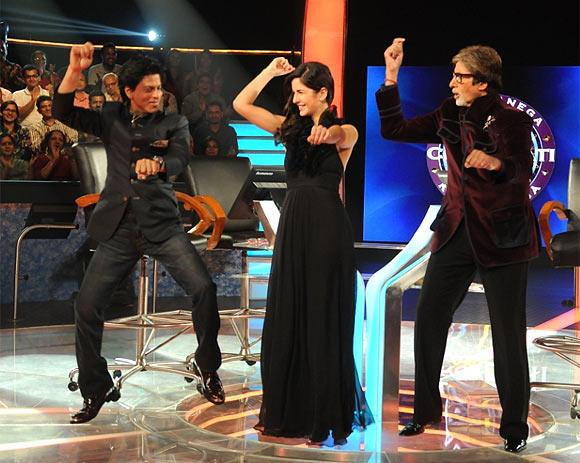 Amitabh,Shah Rukh And Katrina Still On The Sets Of KBC 6