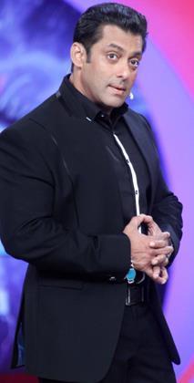 Salman Khan Cute Look With Expression Still At The Sets Of Bigg Boss