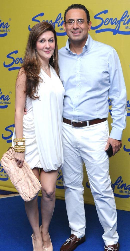 Laila And Ricky Spotted At Serafina Mumbai Restaurant Launch