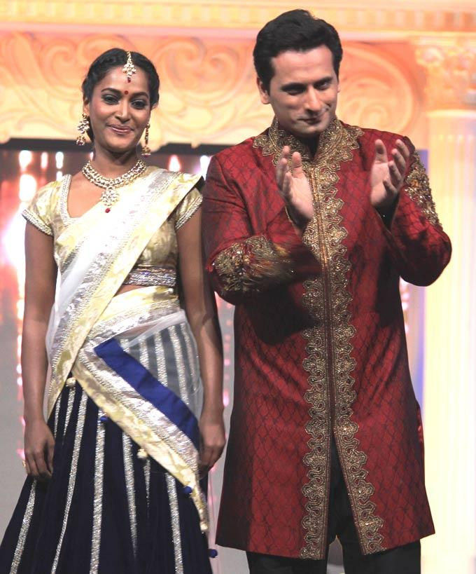 Rajshree And Jay Spotted At Gitanjali ITA Fashion Show