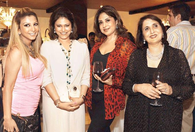 Ramona,Vanita And Mala Have Some Fun At The Launch Of International Furniture Brand Store