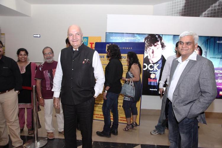 Prem Chopra Spotted At Delhi Safari Special Screening