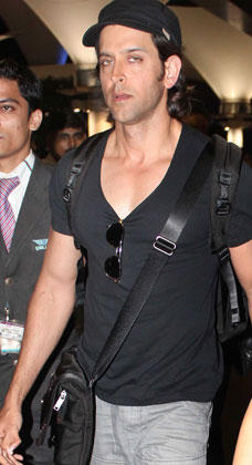 Hrithik Glamour Still At Mumbai Airport