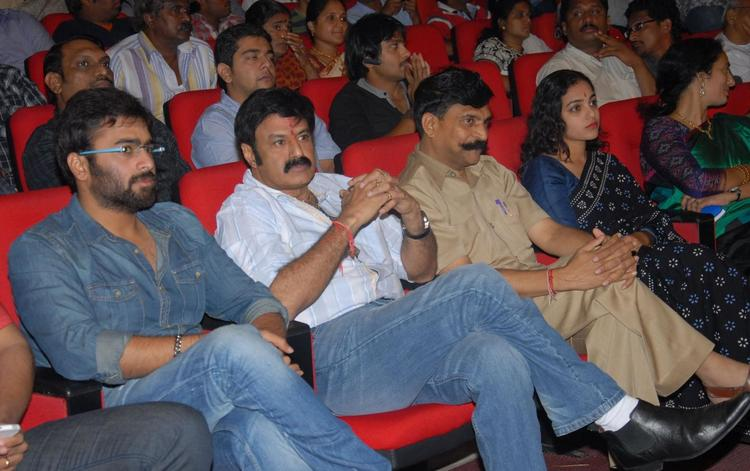 Nara,Balakrishna And Nithya Attend The Audio Release Of Okkadine