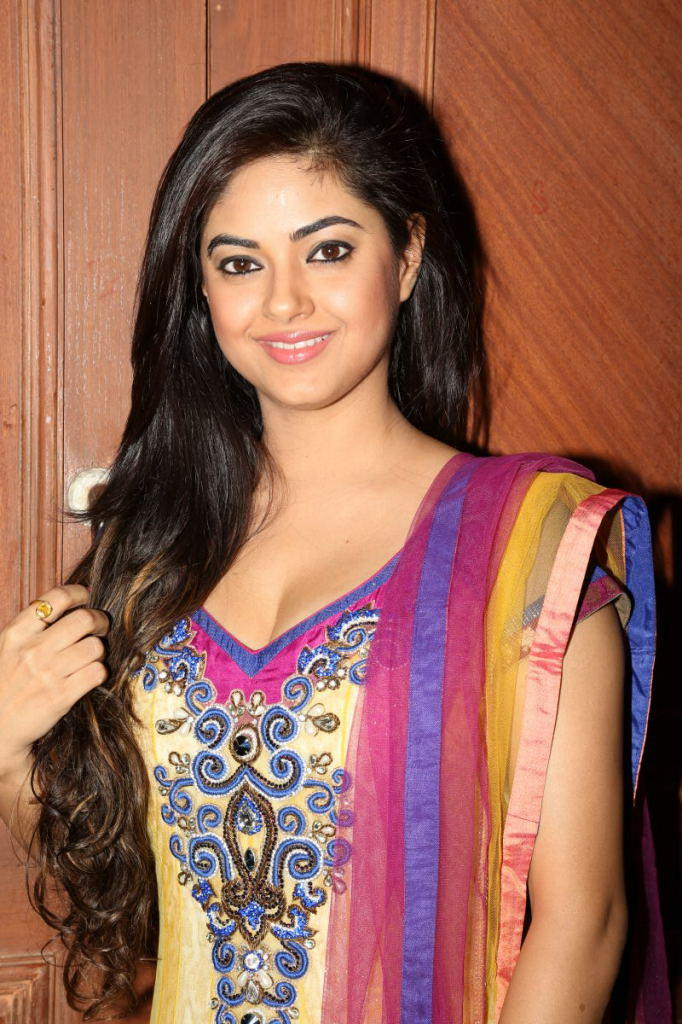 Meera Chopra Completed Her Look With Flowing Hair Still