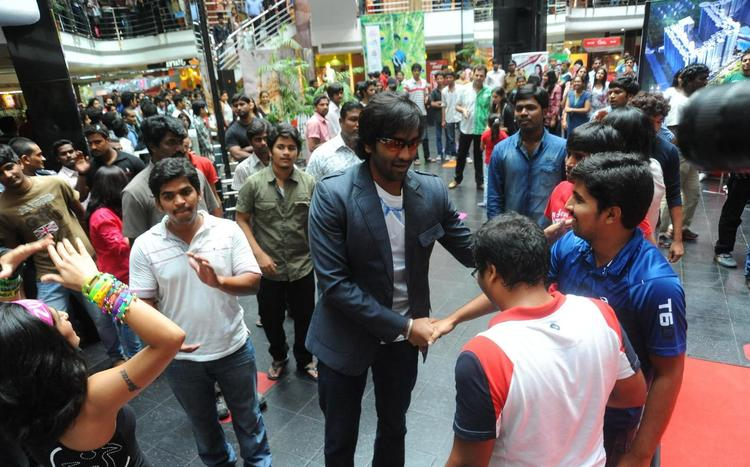 Vishnu At City Center Hyderabad For Promoting Denikaina Ready