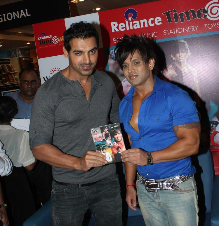 John And Yash Spotted At Yash Birlas Fitness DVD Launching Event