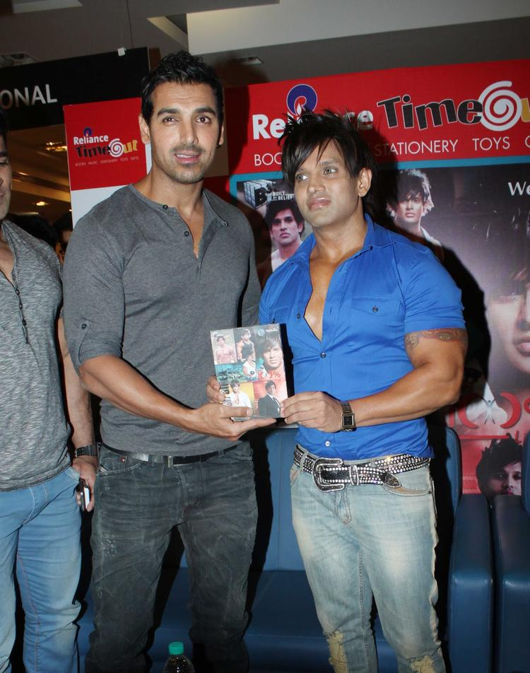 John And Yash At Yash Birlas Fitness DVD Launch Event