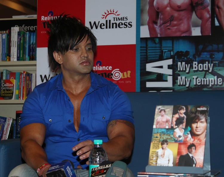 Yash Birla At His Fitness DVD Launching Event