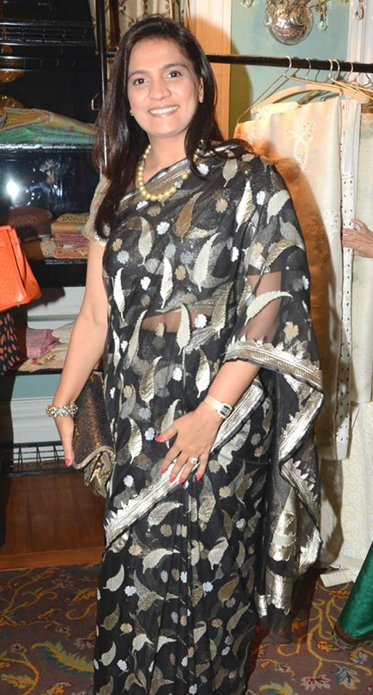 Bijal Meswani Spotted At The Sahchari Foundation