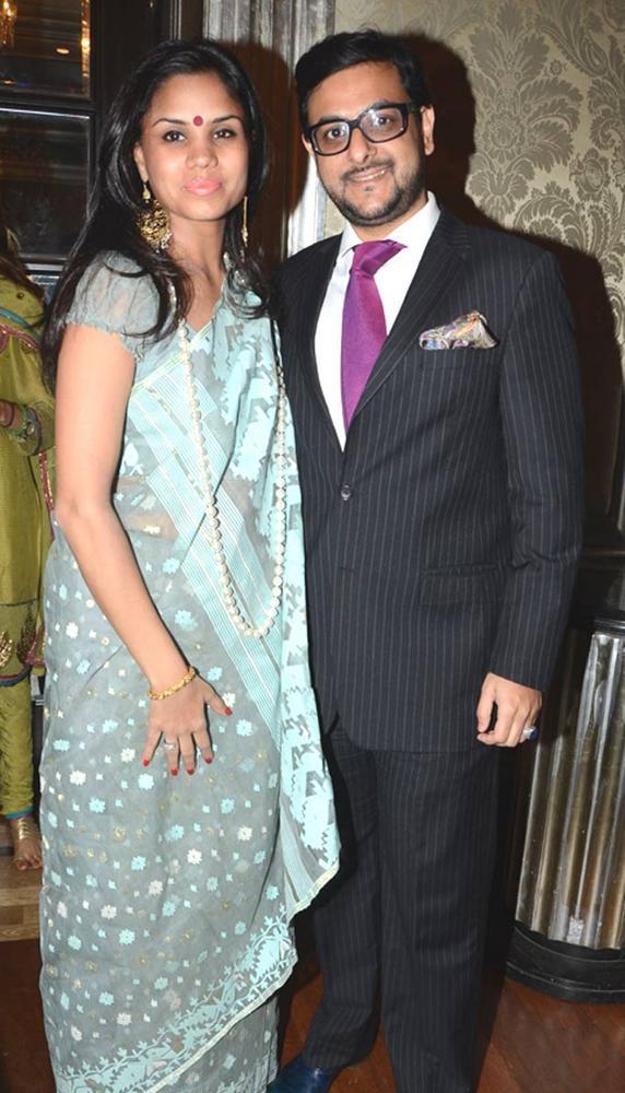 Gaurav and Pratima At The Sahchari Foundation