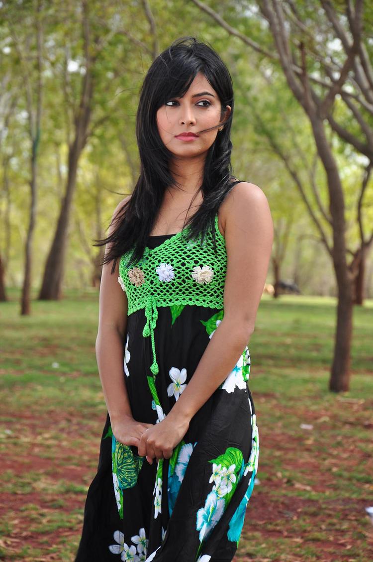 Radhika Cute Look Still From Sandalwood Drama Movie