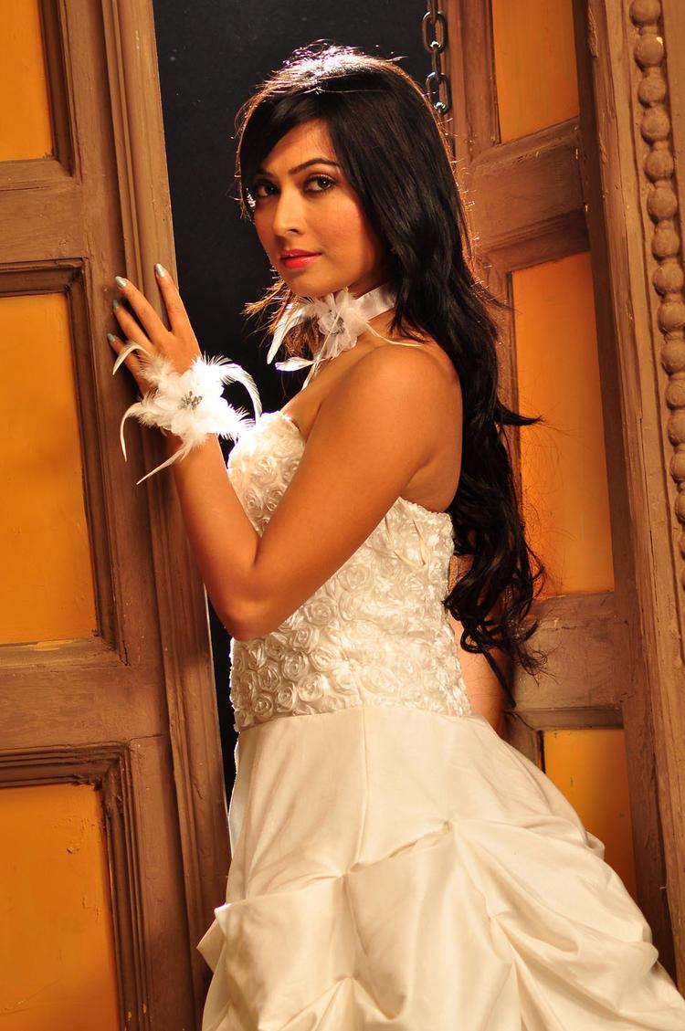 Radhika Cute Sexy Pose Photo Shoot From Sandalwood Drama Movie
