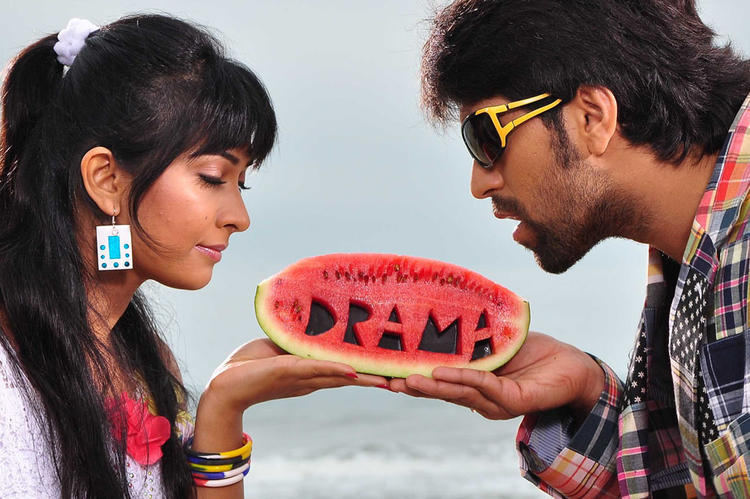 Yash And Radhika Enjoying Fruit Still From Sandalwood Drama Movie