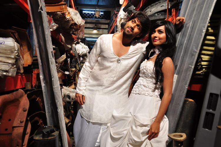 Yash And Radhika Hot Expressions Still