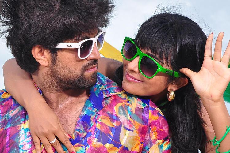 Yash And Radhika With Specks Still