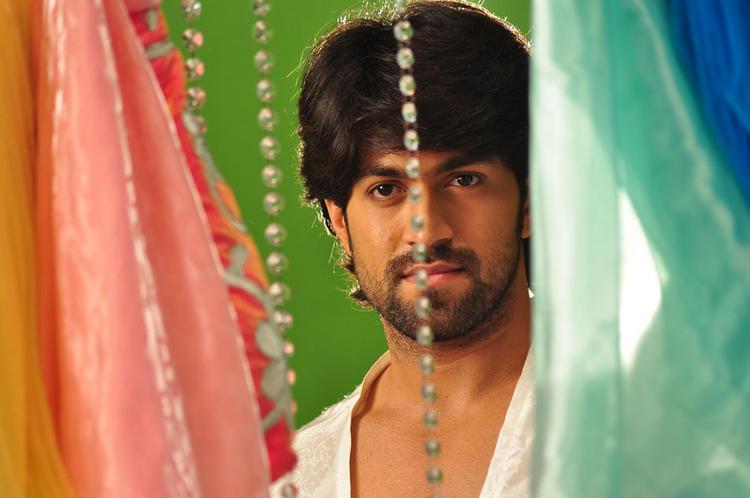 Yash Cute Look Still From Sandalwood Drama Movie