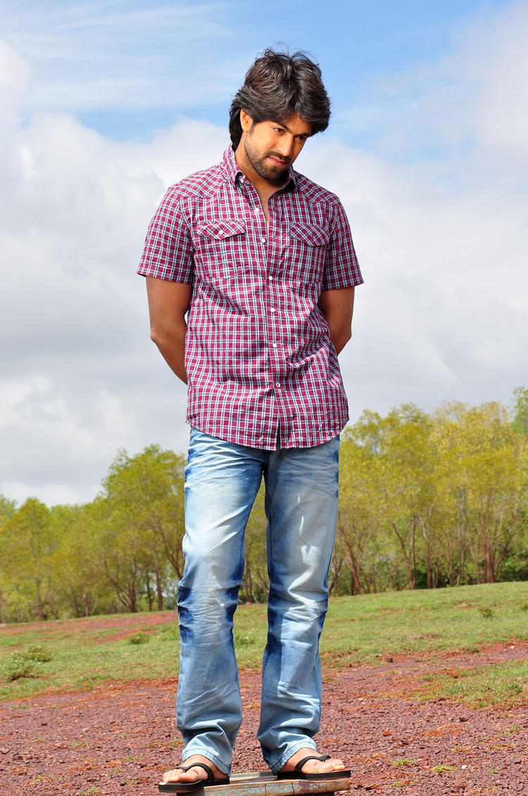 Yash Looks Handsome In Jeans Glamour Still