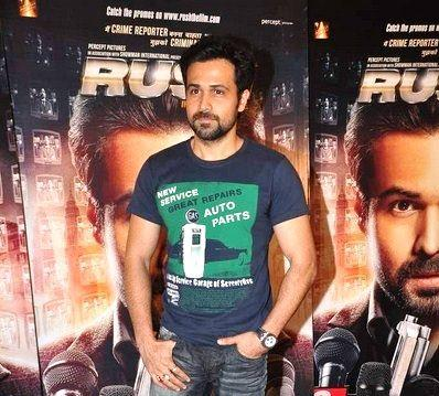 Emraan Hashmi Pose For Camera At The Promotion Of Rush