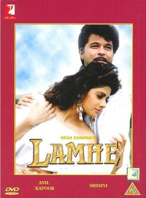 Anil And Sridevi In Movie Poster Lamhe