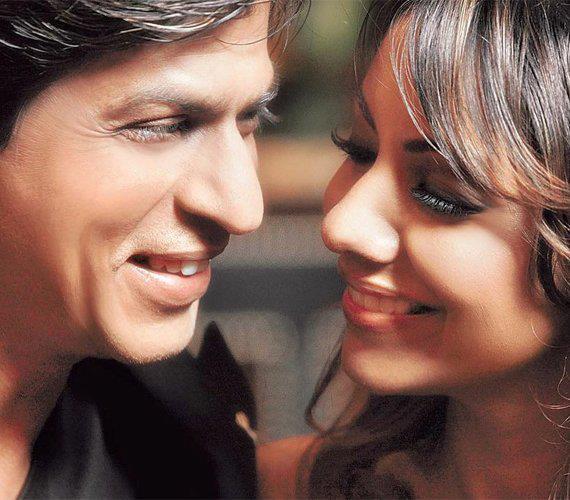 Shahrukh Khan and Gauri Khan Smiling Still
