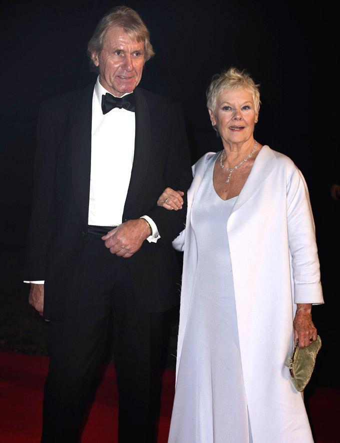 Judi  And David Mills At Royal Albert Hall