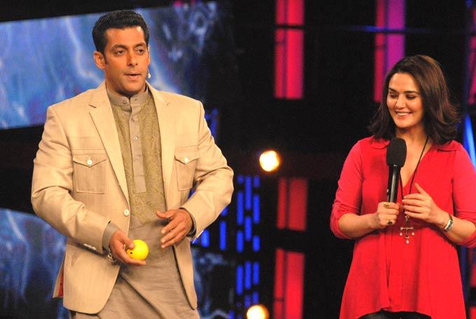 Preity With Salman Spotted At Bigg Boss 6