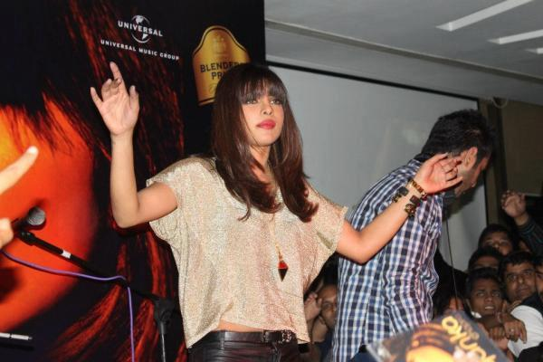 Priyanka Chopra Plays As DJ During In My City Promotion