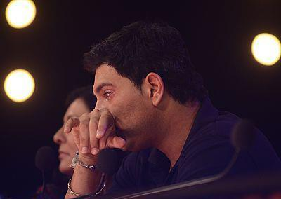 Cricketer Yuvraj Singh Spotted At India's Got Talent Season 4