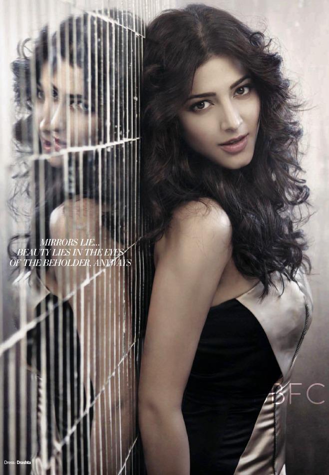 Shruthi Trendy Looking Photo  Stills For November Filmfare Magazine