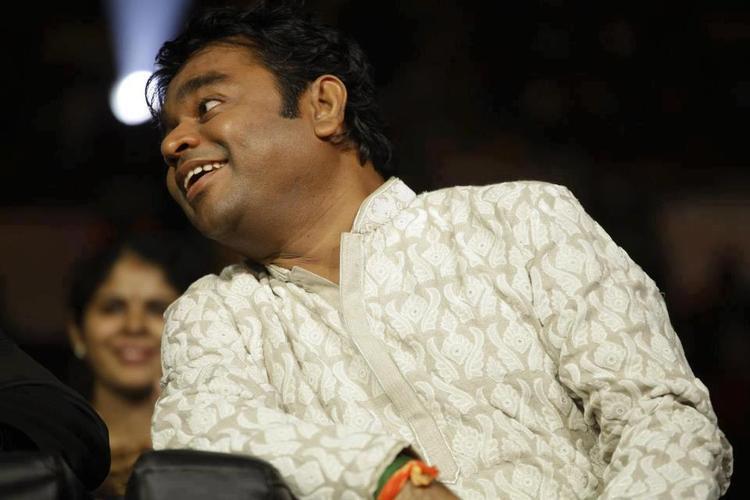 A. R. Rahman Attend The Grand Finale Of Airtel Super Singer 3 Junior