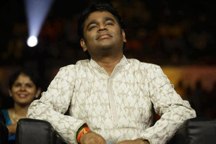 A. R. Rahman Spotted At Airtel Super Singer 3 Junior Grand Finale