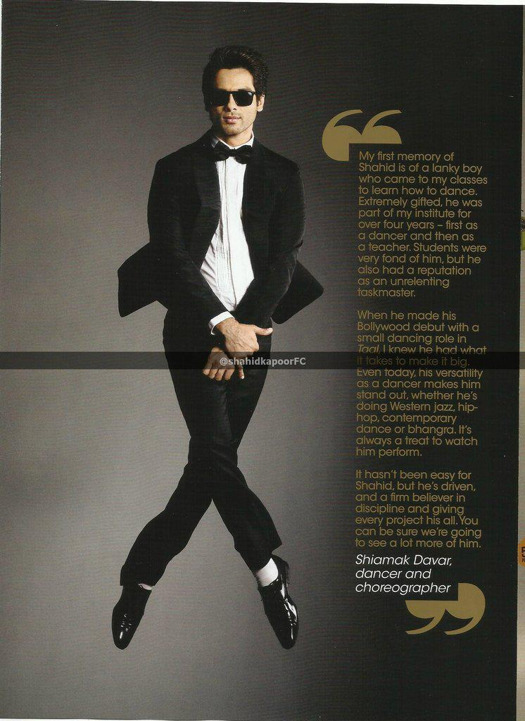 Shahid Photo Cicked In Cross Leg Pose For GQ Magazine October