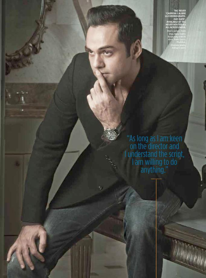 Abhay Deol Smart Look Photo Shoot For Verve Man Magazine