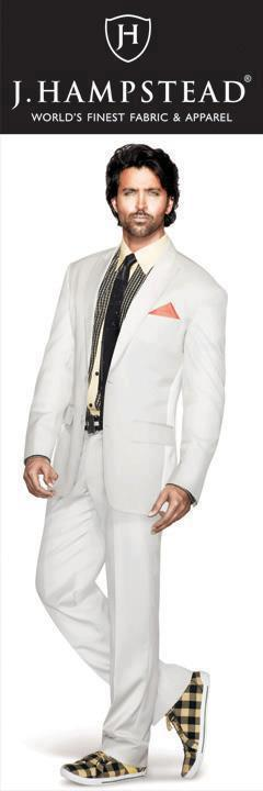 Hrithik Roshan Fashionable Look For J Hampstead Suitings