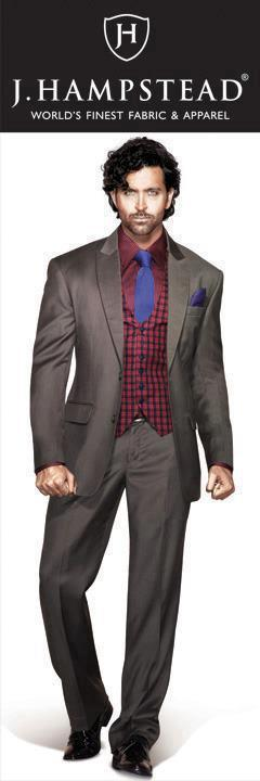 Hrithik Roshan Smart Look For J Hampstead Suitings