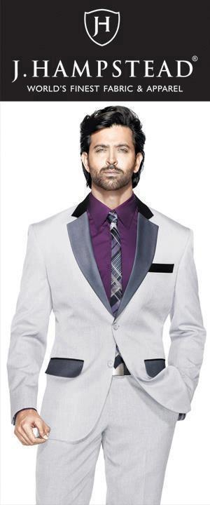 Hrithik Roshan Stylish Look Photo Shoot For J Hampstead Suitings