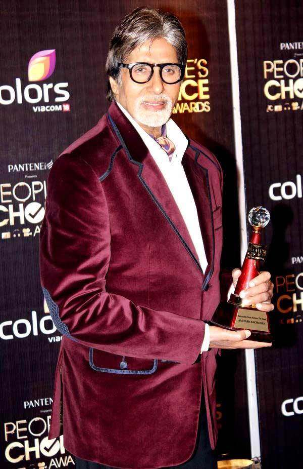 Amitabh Bachchan Attend The People's Choice Awards