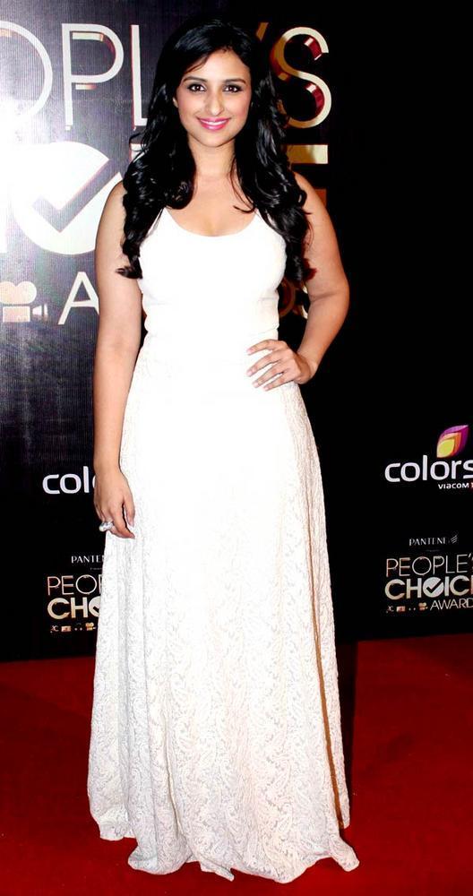 Parineeti Chopra Spotted At The People's Choice Awards