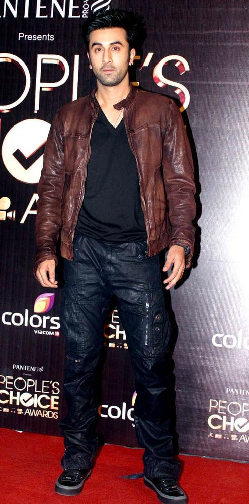 Ranbir Kapoor At The People's Choice Awards