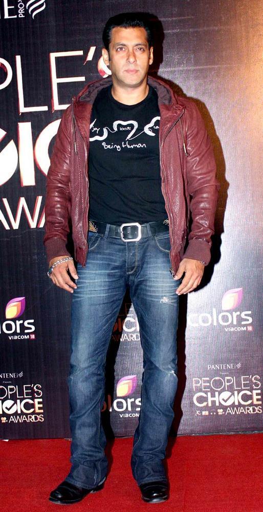 Salman Khan Stylish Look At The People's Choice Awards