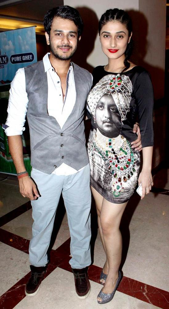 Ragini With Jay Snapped At The Saas Bahu Aur Saazish Success Party