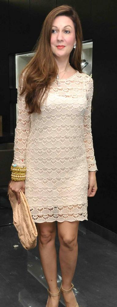 Laila Lamba Attend The Store Launch Of Begani Jewels