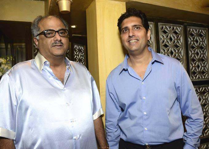 Boney Kapoor And Shravan Satyani At Satyani's Diamond Boutique