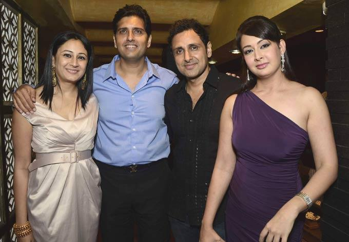 Nitya,Shravan,Parveen And Preeti Spotted At Satyani's Diamond Boutique