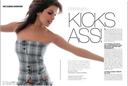 Priyanka Chopra Hot Still On Cosmopolitan Magazine